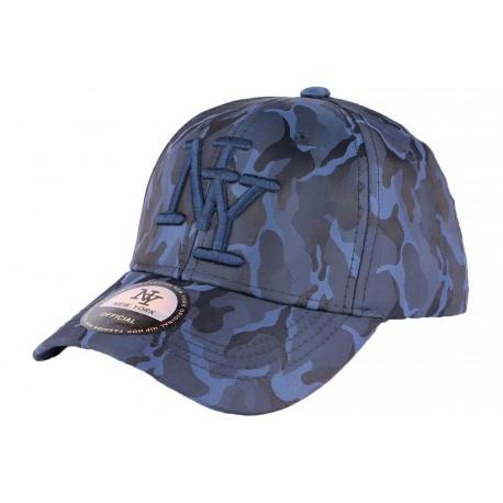 Casquette enfant armée bleu marine Capteen 7 a 12 ans Casquette Enfant Hip Hop Honour