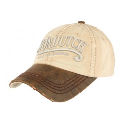 Casquette Von Dutch Retro Marron Halton CASQUETTES VON DUTCH