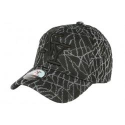 Casquette NY noire et grise fashion Spider