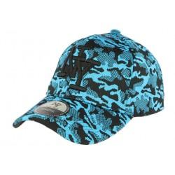 Casquette NY militaire bleu fashion Kalrov