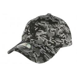 Casquette NY militaire grise fashion Kalrov