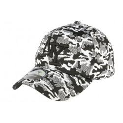 Casquette NY militaire blanche fashion Kalrov
