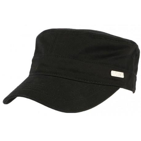 22f7650465891 Casquette militaire noire Juke, casquette armee homme femme livré 48h!