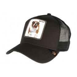 Casquette Goorin Butch noire Dog Francais