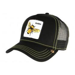Casquette Goorin Queen Bee noire abeille