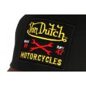 Casquette Von Dutch marron Motorcycles Square