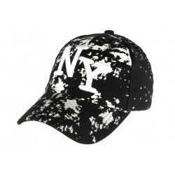 Casquette NY noire et blanche streetwear Taggy