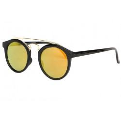 Lunettes soleil miroir dore rondes tendance Balya LUNETTES SOLEIL Eye Wear