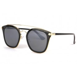 Lunettes soleil noire doree tendance fashly LUNETTES SOLEIL Eye Wear
