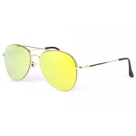 Lunettes soleil aviateur miroir doré Flying LUNETTES SOLEIL Eye Wear