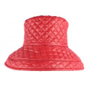 Grand chapeau Pluie Rouge Femme Rayny Nyls Création