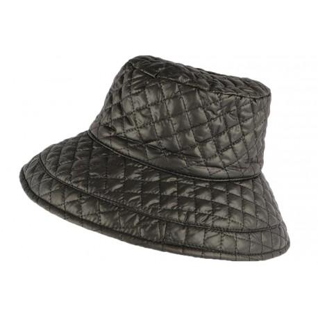 Grand chapeau Pluie Noir Femme Rayny Nyls Création