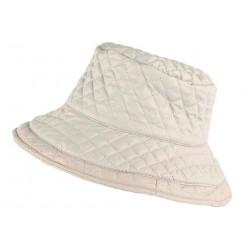 Grand chapeau Pluie Gris Femme Rayny Nyls Création CHAPEAUX Nyls Création