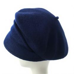 Casquette beret marine femme Butome creatrice Celine Robert