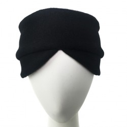 Bandeau femme noire laine Goji creatrice Celine Robert ANCIENNES COLLECTIONS divers