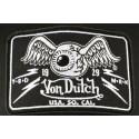Casquette Von Dutch Noire Flying Eyeball Truck