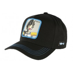 Casquette Vegeta Dragon Ball Z Bleu Noir Collabs CASQUETTES COLLABS