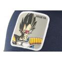 Casquette trucker Vegeta Dragon Ball Z Jaune et bleue Collabs
