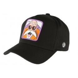 Casquette Kame Dragon Ball Z noire et violette Collabs