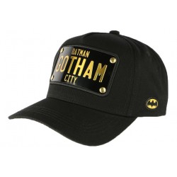 Casquette Gotham City Batman noire Collabs CASQUETTES COLLABS