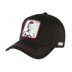 Casquette Frieza Dragon Ball Z noire violette Collabs