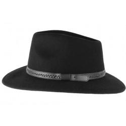 Chapeau feutre Noir tendance Mulker Leon Montane