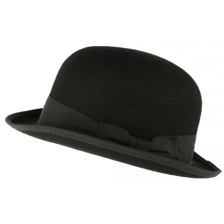 Chapeau Melon noir tendance Harry Leon Montane
