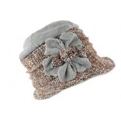 Toque chapeau laine femme marron gris Leana CHAPEAUX Léon montane