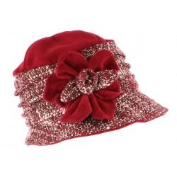 Toque chapeau laine femme rouge rose Leana CHAPEAUX Léon montane