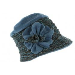 Toque chapeau laine femme bleu noir Leana CHAPEAUX Léon montane