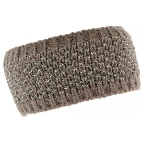 Bandeau laine femme gris doublure polaire Hastya Bandeau Léon montane