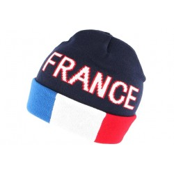 Bonnet France Bleu Blanc Rouge en laine