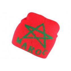 Bonnet Maroc Rouge et Vert BONNETS Nyls Création