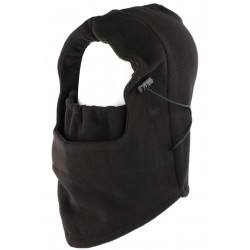 Cagoule Ski polaire noire evolutive snood masque Skyway