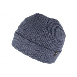 Bonnet Brixton Heist Bleu Denim en laine