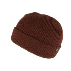 Bonnet Brixton Marron Heist en laine ANCIENNES COLLECTIONS BRIXTON