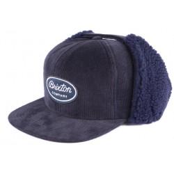 Casquette Brixton bleu Richfield cache oreilles fashion