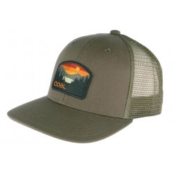 Casquette Coal Verte The Hauler Low Snapback