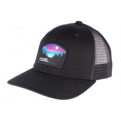 Casquette Coal Noire The Hauler Low Snapback