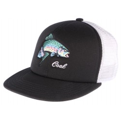 Casquette Coal Noire The Wilds Fisher Snapback CASQUETTES COAL
