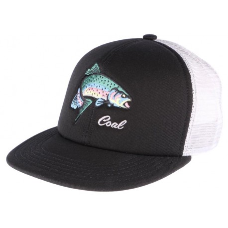 Casquette Coal Noire The Wilds Fisher Snapback