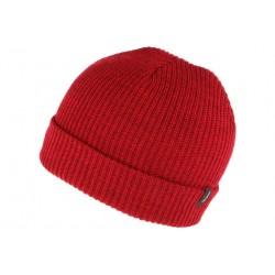 Bonnet Brixton Rouge Heist en laine avec revers
