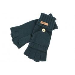 Gants Mitaine Moufle Coal Cameron bleu vert