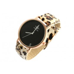 Montre doree bracelet panthere fashion Baghy