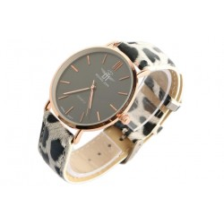Montre femme doree bracelet panthere fashion Baghy Montre Michael John