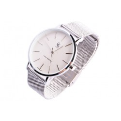 Grande Montre argent maille milanaise Langa GG Luxe