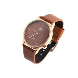 Bracelet montre marron homme tendance Laika Michael John