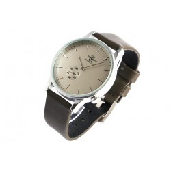Bracelet montre gris homme tendance Laika Michael John Montre Michael John