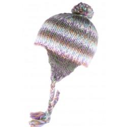 Bonnet peruvien bleu et violet Cuzco Leon Montane