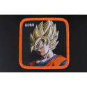 Casquette Goku Dragon Ball Z Collabs orange et noire